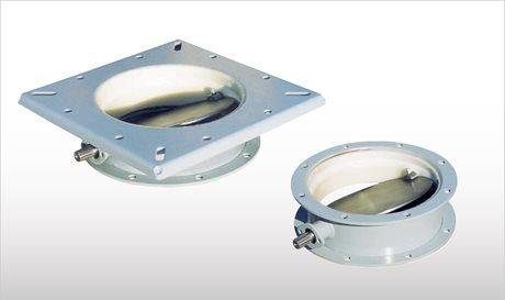 Silo Closure Butterfly Valves  - VFF